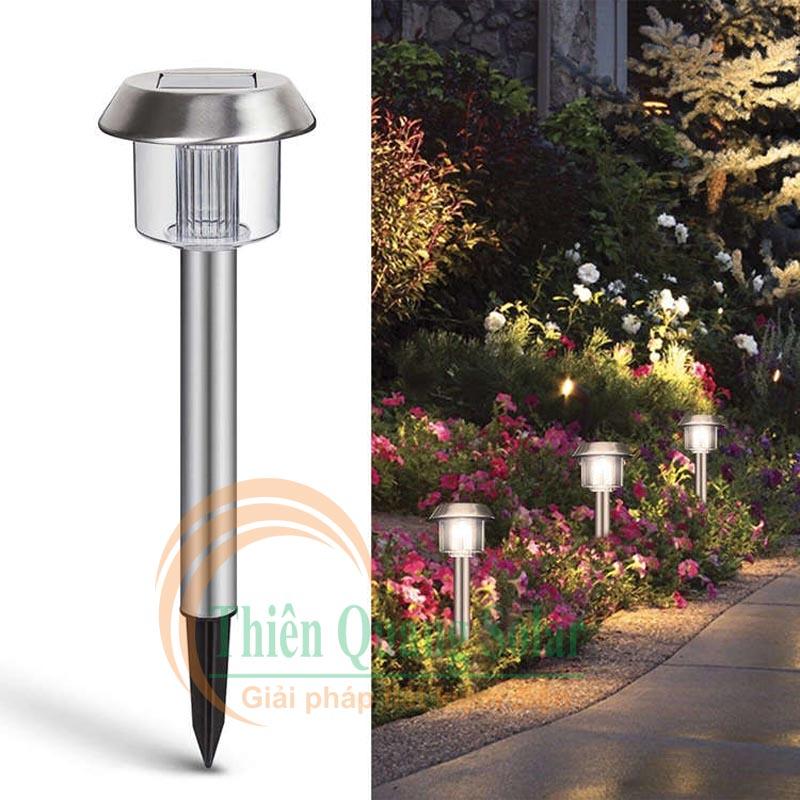 Đèn Led được tin dùng thiết kế cho sân vườn