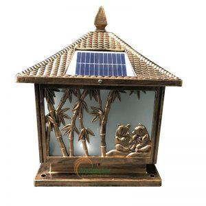Đèn trụ cổng năng lượng mặt trời TQS-463